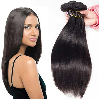 Silky Straight Natural Black